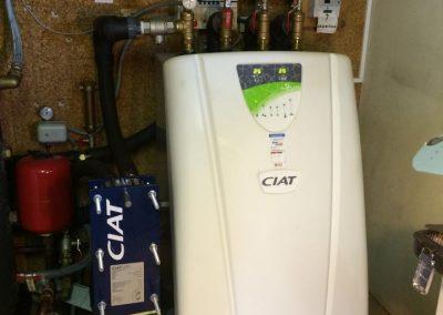 Pompe à chaleur eau